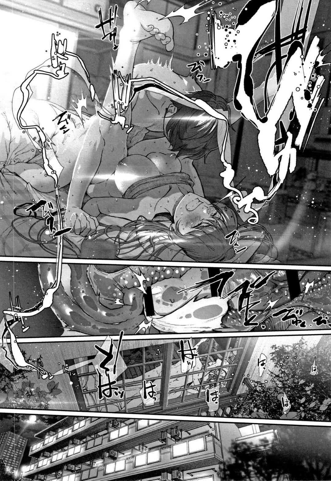 【エロ漫画】彼氏と処女喪失セックスに挑む清楚系彼女…経験のない二人はぎこちなくキスし、頑張り屋な彼女は喉奥までチンポを咥えてごっくんまでしてしまう。その後は正常位や騎乗位などの体位で処女喪失セックスするのだった。【じょろり:恋せよ処女】